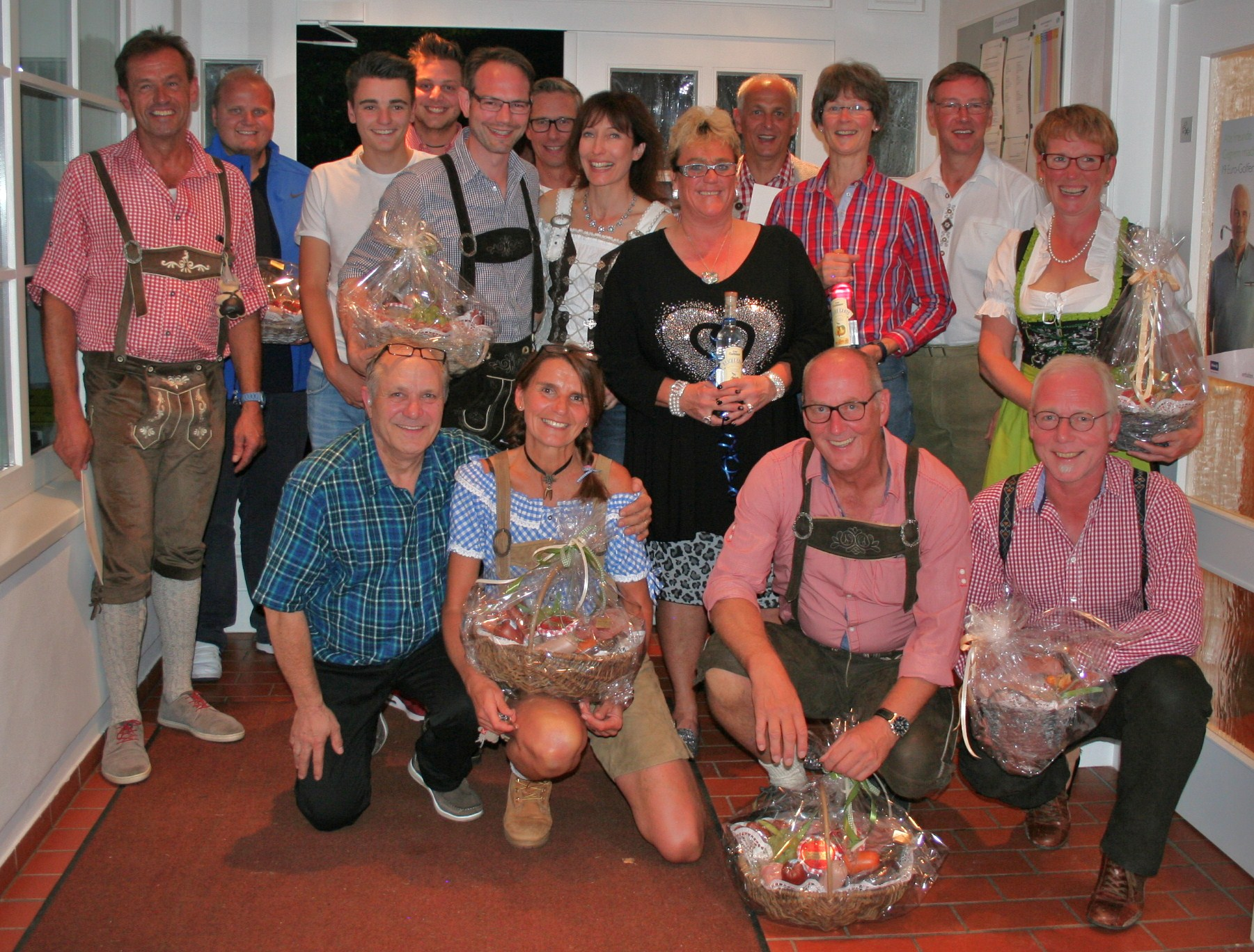 Siegerfoto Ladies Team Oktoberfest
